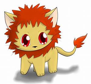 Chibi Lion by SpiriTofHearts on DeviantArt
