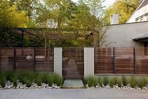 Terrasse Zaun Metall : die besten 25 sichtschutz modern ideen auf pinterest moderner zaun modernes zaun design und ~ Sanjose-hotels-ca.com Haus und Dekorationen