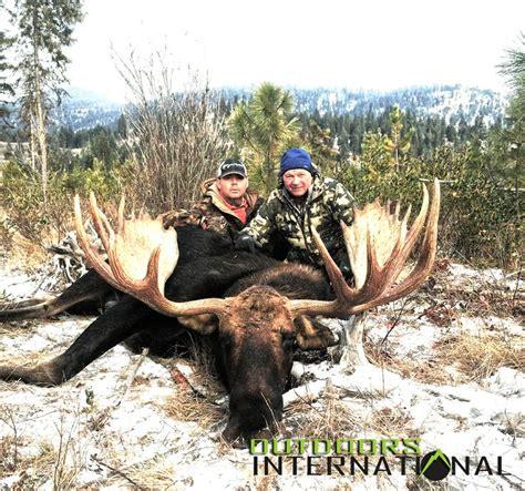 Washington Shiras Moose Hunts | Moose hunting and Moose