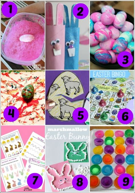 19 easter activities for preschoolers mess for less 326 | easter activities for preschoolers 1