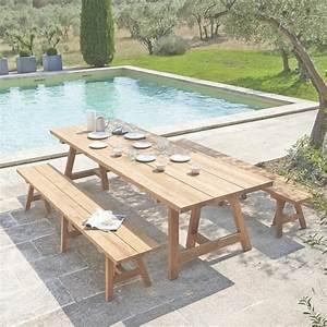 Table 14 Personnes : table de jardin 12 14 personnes phil barbato jardin ~ Teatrodelosmanantiales.com Idées de Décoration