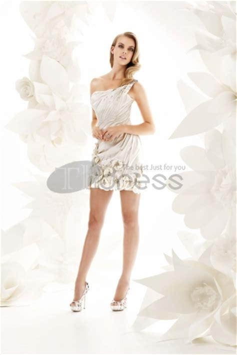 robe de mariee moderne satin chagne moderne mini robes de mari 233 e courtes asym 233 triques image 824298 by robe de bal