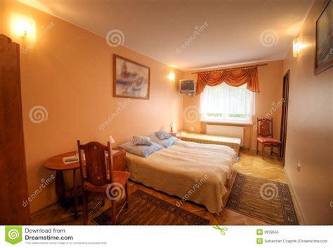 small hotel room royalty  stock photo image