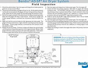Bendix Bw2763 Users Manual Air Dryer Troubleshooting