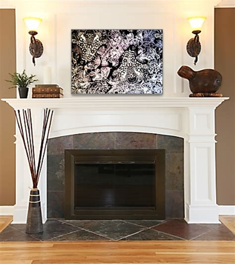 Decorating Ideas Above Fireplace by Photos Bild Galeria Decor Above Fireplace