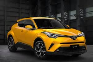 Yellow 2017 Toyota Chr