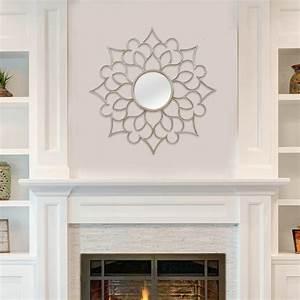 Stratton home decor francesca wall mirror reviews wayfair