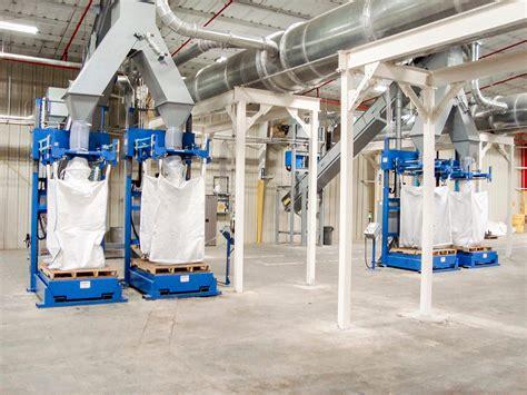 container bulk bag filler systems pioneer systems bulk material handling