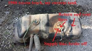 Gas Tank  Differrent Lines