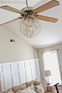 Ideas about ceiling fan redo on