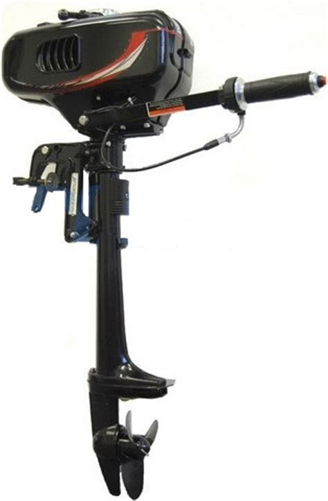 Owning A Small Motor Boat by Brand New 2 Hp 2 Stroke Water Cooled Outboard Motor With
