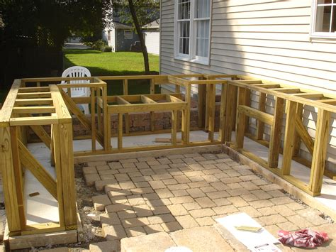 Patio Construction by Nj Home Improvement Outdoor Bar And Grill