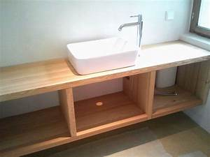 Waschtischunterschrank Für Aufsatzwaschbecken Holz : waschtischunterschrank holz ~ Bigdaddyawards.com Haus und Dekorationen
