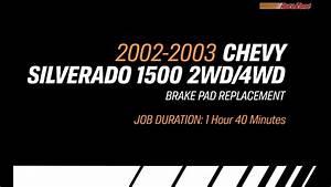 Replacing Brake Pads On A 2002-2003 Chevy Silverado