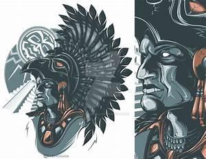 Aztec Warrior by Daver2002ua.deviantart.com on @DeviantArt ...