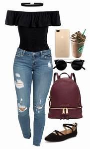 Tenue A La Mode : jeans looks para se inspirar v tements pinterest ~ Melissatoandfro.com Idées de Décoration