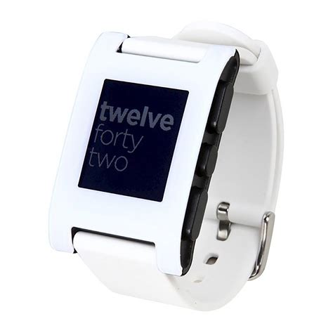 smartwatch iphone compatible pebble classic bluetooth smartwatch rechargeable and