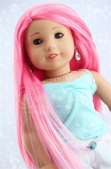 Cherry Blossom Elegance Doll Wig For American Girl Dolls