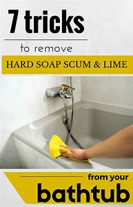 7 Tricks To Remove Hard Soap Scum And Lime From Your