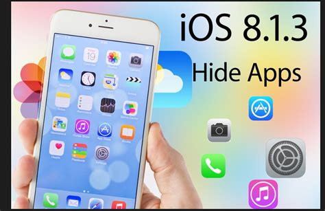 hide apps in iphone ios 8 1 3 glitch allows you to hide iphone apps apple