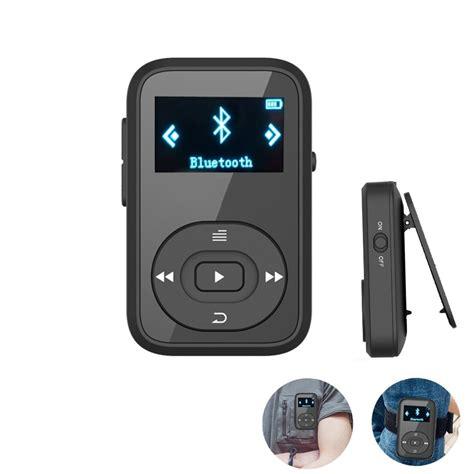 Zu Mp3 by Mini Clip Mp3 Ruizu X26 Mp3 Player Bluetooth 8gb Sport Mp3