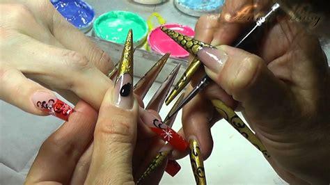 nail art  anna milay winter und weihnachts design