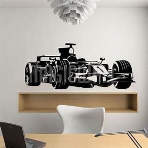 wall decals race car wall stickers With car wall decals