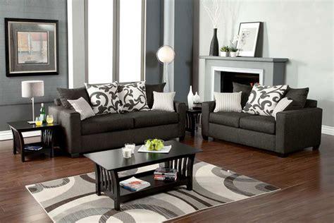 medium gray sofa set fa fabric sofas