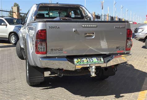 rhino 4 215 4 toyota hilux 2005 rear bumper