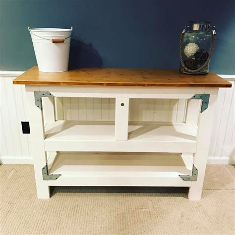 Ana White  Kitchen Prep Table  Diy Projects