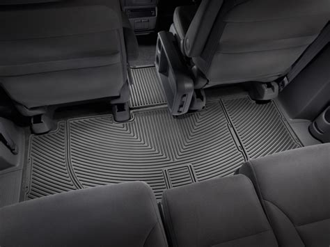weathertech 174 all weather floor mats 2005 2010 honda