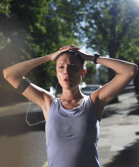 rid  shaky muscles   work  woman