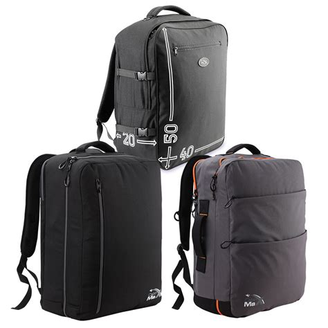 cabin max lightweight hand luggage suitcase backpack