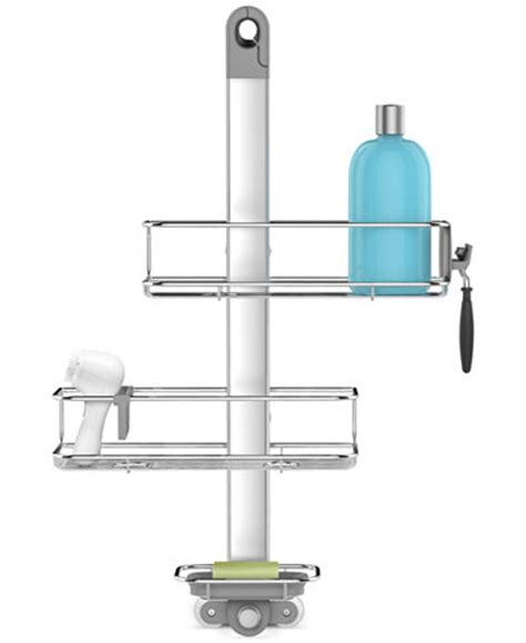 4334 adjustable shower caddy simplehuman adjustable shower caddy bathroom accessories