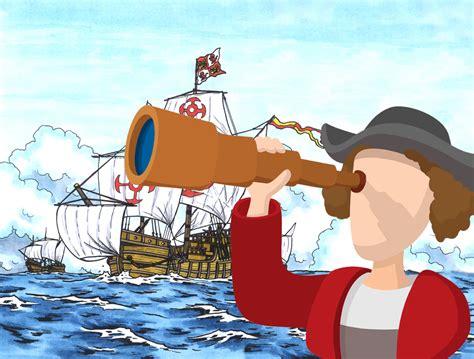 Imagenes De Cristobal Colon Y Sus Barcos Para Colorear by Biograf 205 As Cortas 174 Crist 243 Bal Col 243 N Navegante Y Descubridor