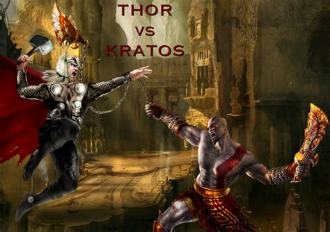 God Of War 4 ¿kratos Vs Thor Ps4k