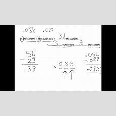 Grade 5 Module 1 Lesson 10 Homework Youtube