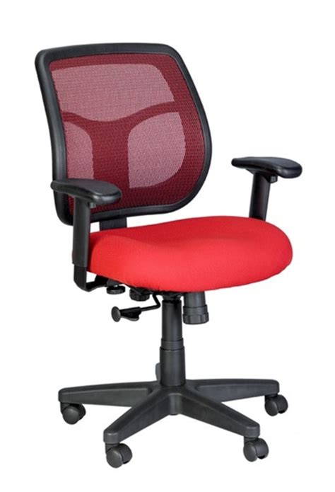 eurotech apollo mesh back office chair with bright