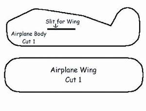 17 best ideas about airplane crafts on pinterest paper With airplane cut out template