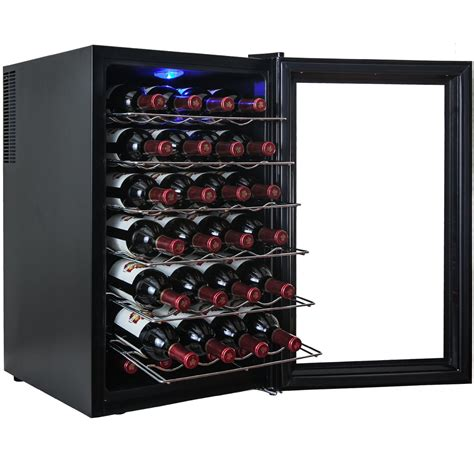akdy  bottle single zone freestanding wine cooler review