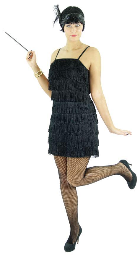 20er jahre kleid damen 20er jahre damen kleid charleston kost 252 m schwarz