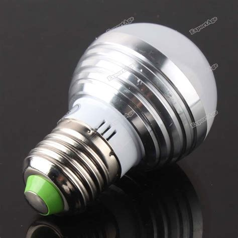 exportage new e27 3w rgb led magic light bulb l