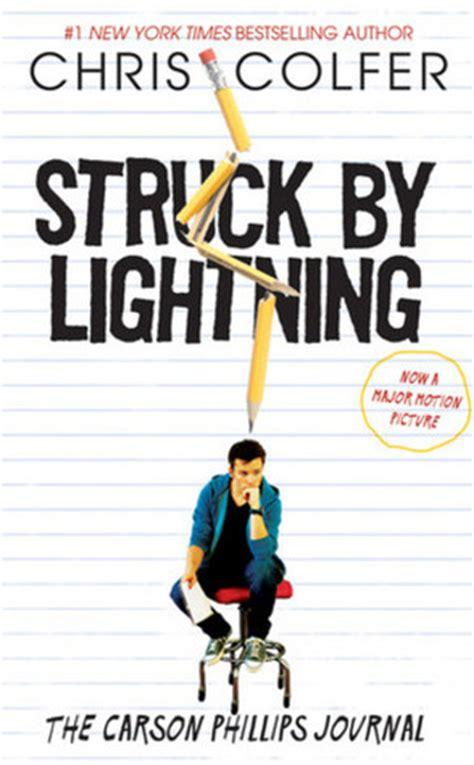 struck  lightning  carson phillips journal  chris colfer