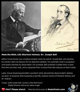 The Real Sherlo... Dr Joseph Bell Quotes