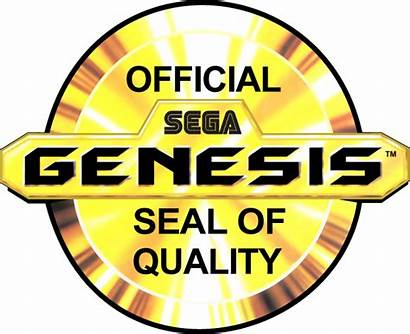 Sega Seal Genesis Official Gold Version Vgboxart