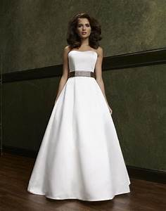 Simple a line wedding dress ipunya for A line dress wedding