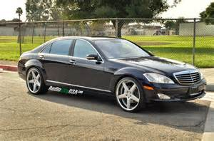2007 mercedes s550 amg 2009 mercedes s 550 on 22 quot azad a008 silver chrome lip mbworld org forums