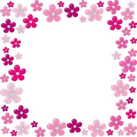 floral frame cadre fleurs pour creas