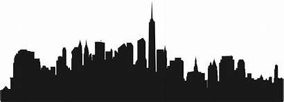 Silhouette Skyline Transparent Clip Clipart York Building