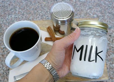 How to make dalgona coffee. How to foam milk in a mason jar - Creative Ramblings